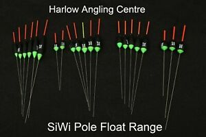 SIWI Canal and Fen Pole Floats by Simon Wilsmore  All Patterns Packs of 4