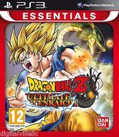 Dragon Ball Z Ultimate Tenkaichi Ps3 Brand Sealed Dragonball Game