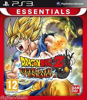 Dragon Ball Z Ultimate Tenkaichi Ps3 Brand Sealed Dragonball Game