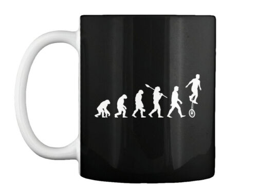 Details about  /Evolution Of Unicyclist Gift Coffee Mug