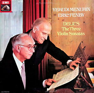"""ASD 3864 DELIUS The Three Sonatas / MENUHIN / FENBY NM - France - État : Genre: Classical Sleeve Grading: Excellent (EX) Style: Sonata Country/Region of Manufacture: United Kingdom Speed: 33RPM Record Label: ASD 3864 Record Size: 12"""" Special Attributes: 1st Edition Duration: LP Release Year: 1980 Record Gradin - France"""