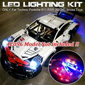 LED-Light-ONLY-Lighting-Kit-For-Lego-42096-Technic-Porsche-911-RSR-Bricks