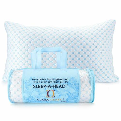 Reversible Multi-Use Cool to Velvety Queen 2Pk ❄Instant Cooling Infused Pillow