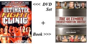 NEW-Ultimate-Fight-Clinic-DVD-Set-Utlimate-Mixed-Martial-Artist-Book-MMA