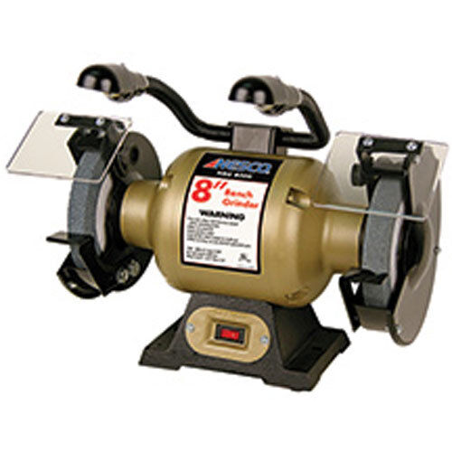 Remarkable Black Bull Bg8Dl 8 Inch Bench Grinder With Lights 2 Grinding Wheels Included Alphanode Cool Chair Designs And Ideas Alphanodeonline