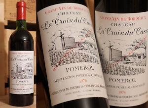 1976er Chateau La Croix Tu Casse-pomerol-top!-afficher Le Titre D'origine Laissons Nos Produits Aller Au Monde