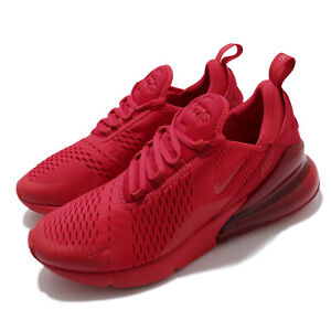 Nike Air Max 270 University Red Triple Red Men Casual Lifestyle Shoes CV7544-600