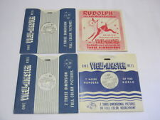 Rudolph The Red Nosed Reindeer Vintage view Master Reels FT 26 26 & 27    T*