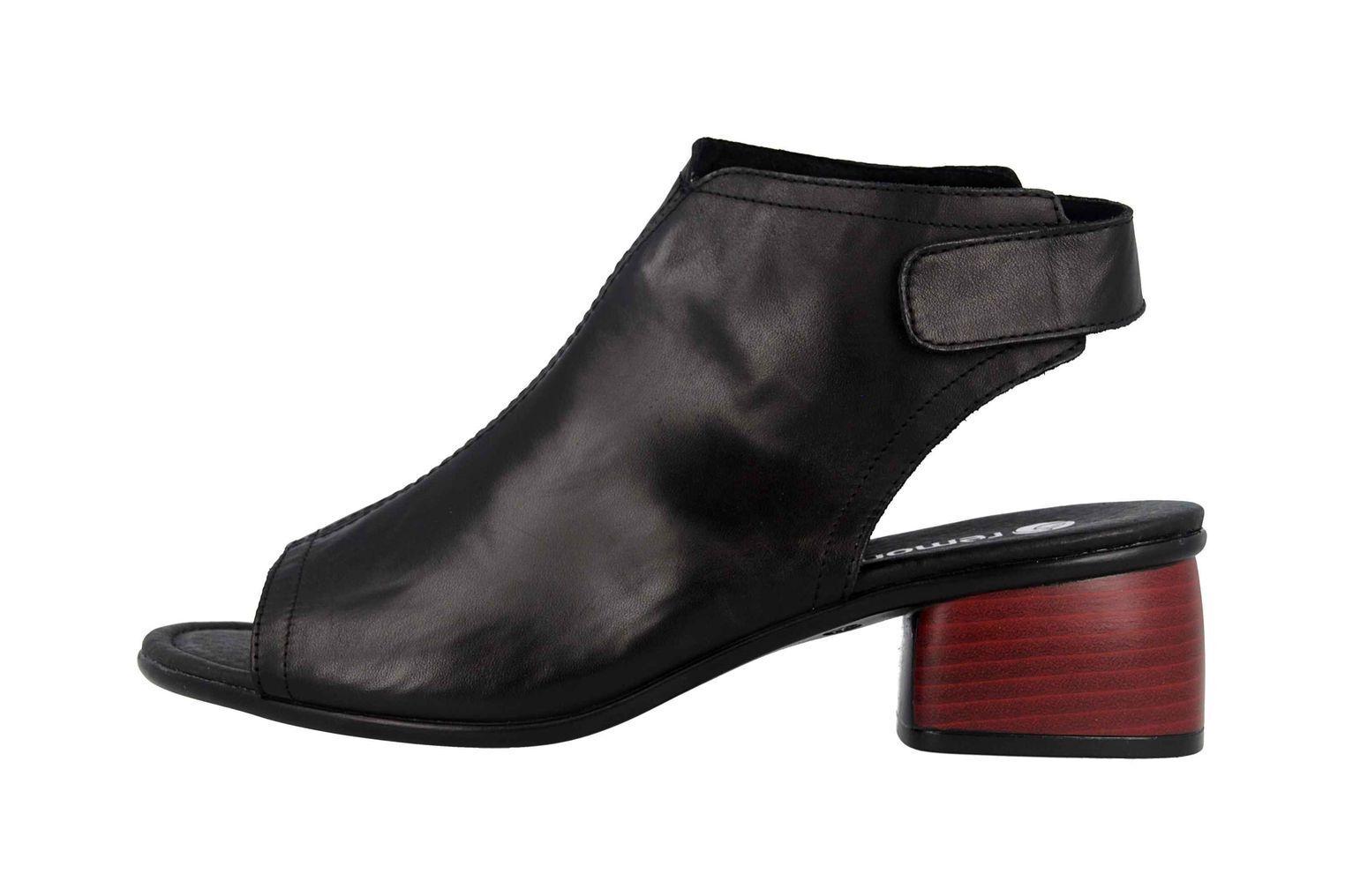 2fcf486ba9e Remonte Sandales en Grande Taille Noir Noir Noir r8770-01 Grand Chaussures  Femmes d3ae3d