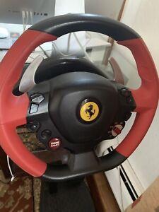 Details About Thrustmaster Ferrari 458 Spider 4460105 Wheel And Pedals Set