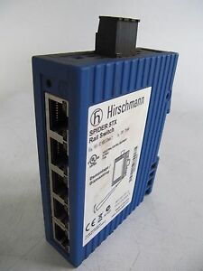 HIRSCHMANN SPIDER 5TX ETHERNET RAIL SWITCH 5 PORT