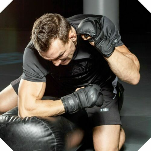 RDX MMA Gloves Sparring Grappling Martial Arts Fight Punching Bag Training CA