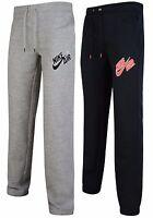 New Mens Nike Air Joggers Tracksuit Jogging Bottoms Track Sweat Pants Black Gray