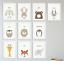 Peekaboo-Animal-Prints-for-Nursery-Prints-For-Girl-Boy-Baby-Bedroom-A4-FRAMED thumbnail 1