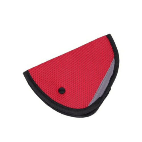 Regulator Safety Car Protector Strip Children Kids Seat Belts Mesh Triangle