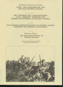 rn3980-5-seltene-Werke-Deutschsuedwestafrika-von-Erffa-Reise-und-Kriegs