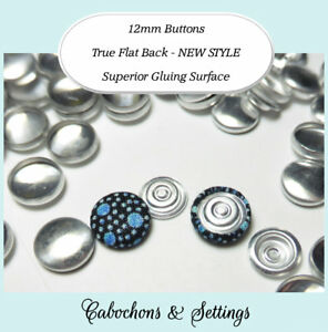 50-Self-Cover-Buttons-12mm-Fabric-Cover-FLAT-Back-Button-DIY-new-BETTER-style