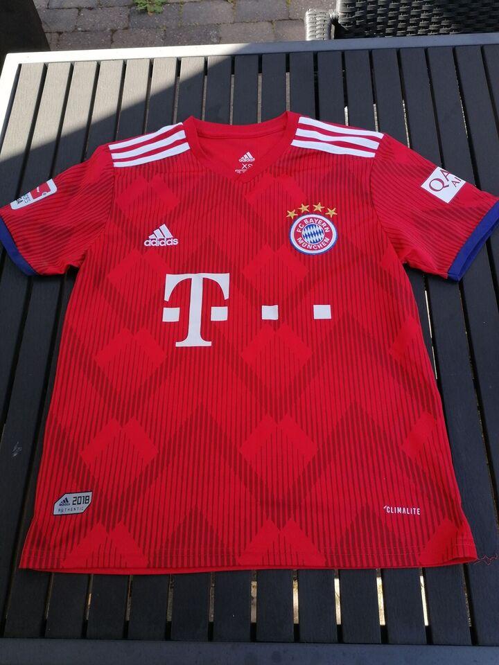 Fodboldtrøje, FC Bayern hjemmetrøje, Adidas