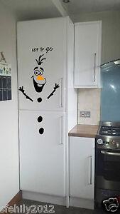 Olaf-Frozen-lasciar-perdere-Natale-Porta-Frigo-Adesivi-Decalcomania-Muro-Finestra-Natale-UK