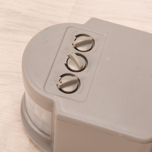 New Outdoor 180° Degree Security PIR Motion Movement Sensor Detector FO