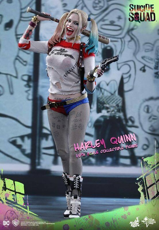 HOT TOYS DC SUICIDE SQUAD HARLEY QUINN 1/6 FIGURE MMS383