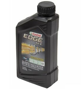 new 1 quart engine oil castrol edge c3 slx 5w 30 fully. Black Bedroom Furniture Sets. Home Design Ideas