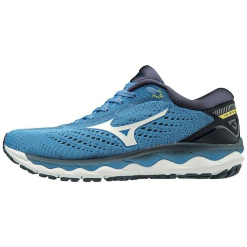 Running-schuhe Mizuno Mizuno Wave Sky 3 Blau T97907// Running-schuhe Mann Blau