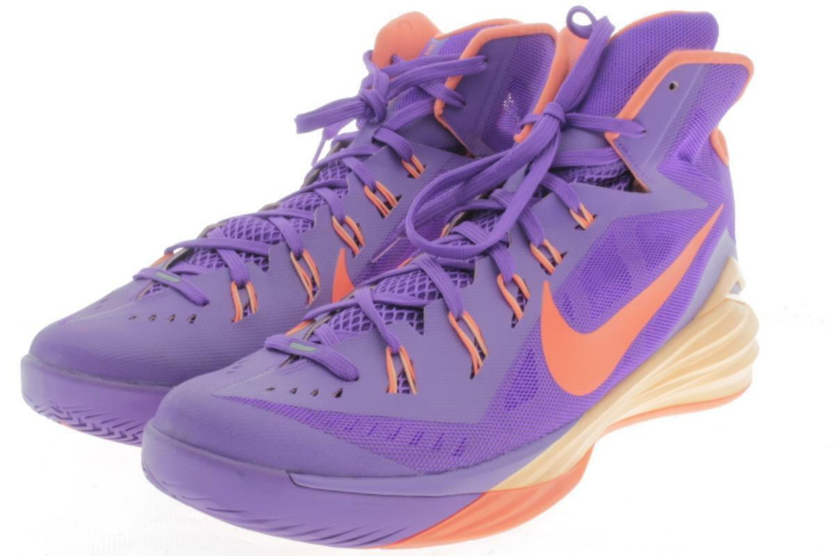 Mens Large Size Nike Hyperdunk Purple Basketball shoes 15 M..202A