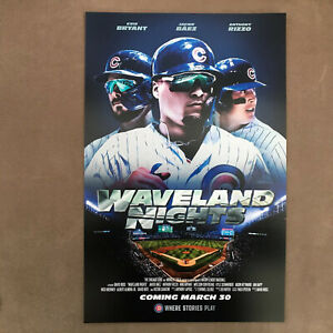 Chicago-Cubs-Poster-Waveland-Nights-Baez-Bryant-Rizzo-2020-Cubs-Convention-11x17
