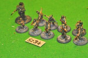 28mm I SEGRETI DEL TERZO REICH WW2 US 10 Fanteria in metallo (come foto) (52314)