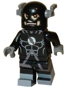 **NEW** LEGO Custom Printed Blackest Night Black Lantern FLASH - DC Minifigure
