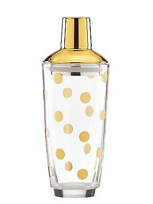 Kate Spade New Yor Two of a Kind Dotted Shaker 24oz