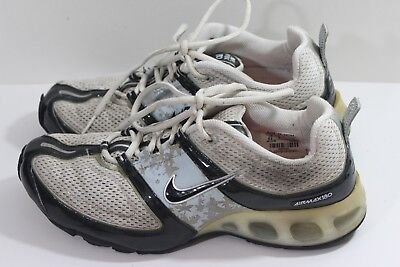 NIKE AIR MAX 180 SZ 9.5 ~314017 142 WHITE MESH WITH BLACK AND BABY BLUE (H) | eBay