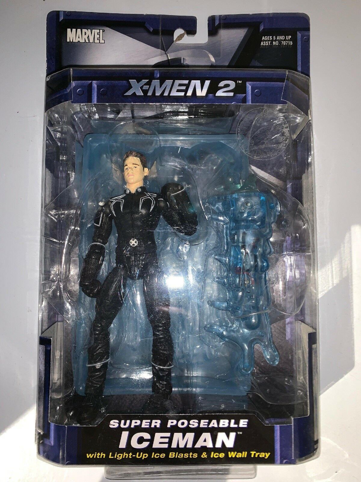 Marvel Legends Movie X-Men 2 6 X2 Iceman Bobby Bobby Bobby Drake Action Figure Toy Biz 3947c6