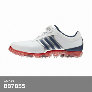 Adidas Mens 2019 Golf Shoes Pure Metal Boa Plus 7-Spike Free EMS ...