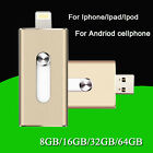 I-Flash Drive Storage FOR iPhone/iPad/iPod IOS 8pin USB Memory Stick 32GB OTG