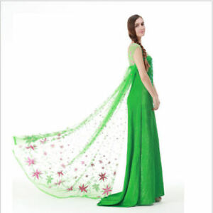 Elsa vestido verde