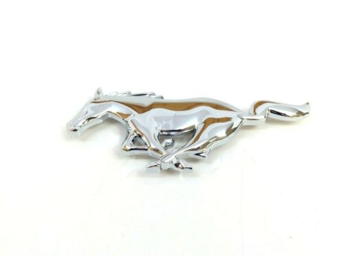 2005 2006 2007 2008 2009 Ford Mustang Running Chrome Pony Grille Emblem OEM new