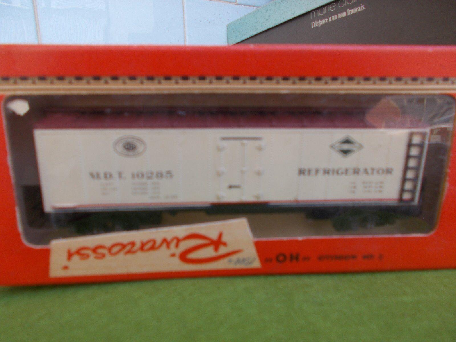 Rivarossi wagon C Reef 4 M.D.T. Refrigerator