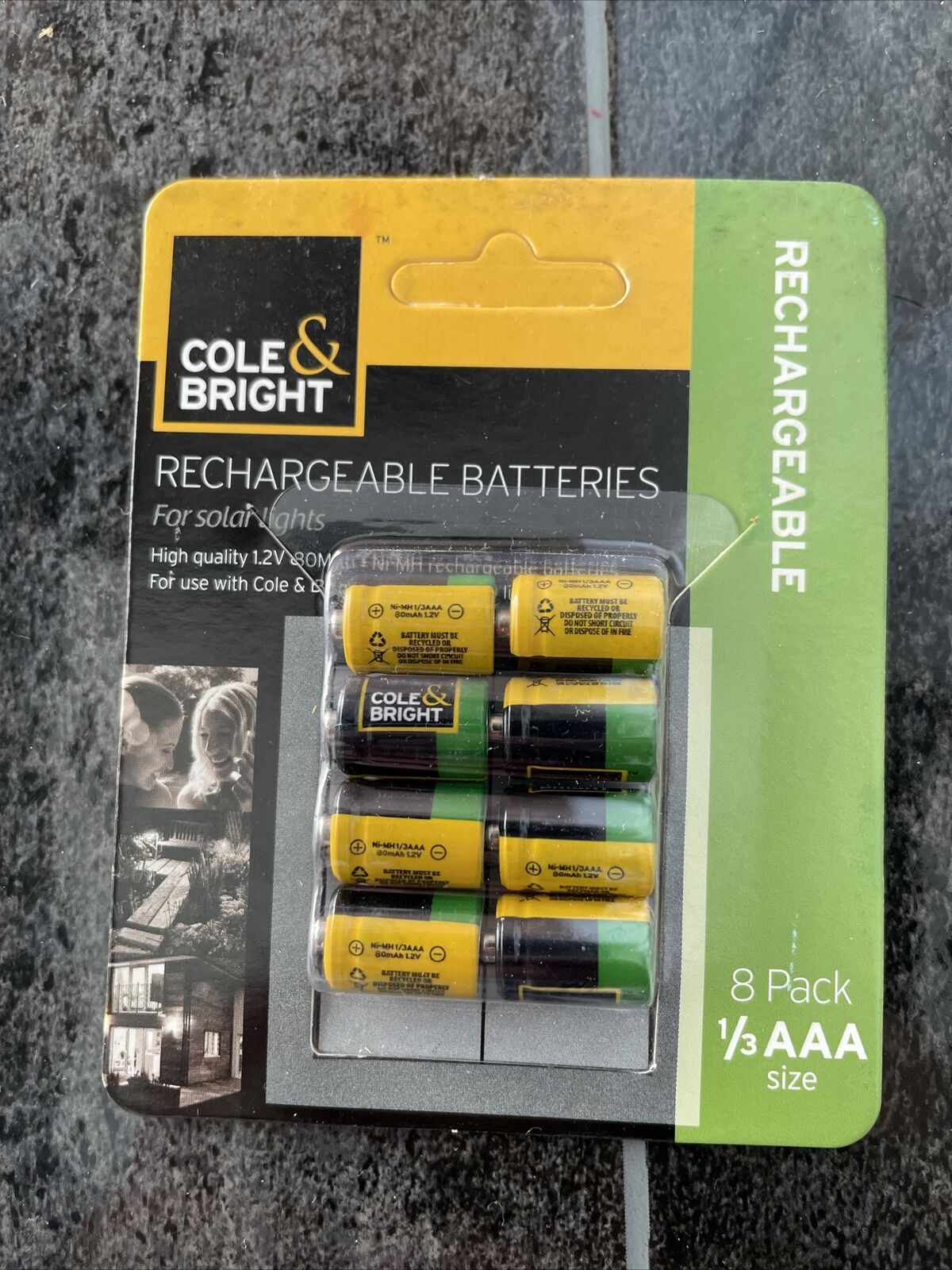 1/3 aaa battery cole & bright