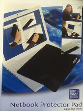 Ednet 3 in 1 Netbook Protector Pad (12,1 Zoll) 245*165mm Mousepad schwarz