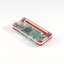Rosso acrilico Custodia Per Raspberry Pi & ZERO ZERO W vaultpi