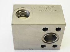 Hydraquip Hydraulic Valve Manifold 0918 C44432 Rev 0