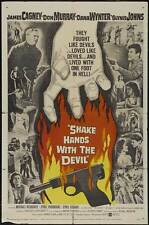 SHAKE HANDS WITH THE DEVIL Movie POSTER 27x40 James Cagney Don Murray Dana