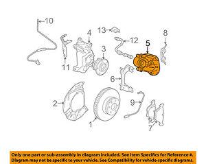 image is loading bmw-oem-04-07-530i-front-brake-disc-
