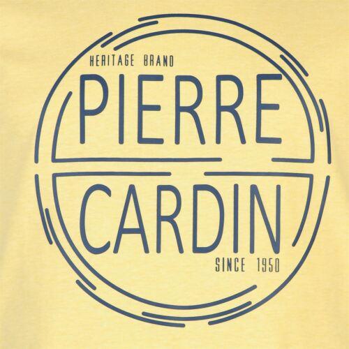 Chemise homme PIERRE CARDIN Everyday large imprimé pastel T Shirt Homme Taille S-4XL