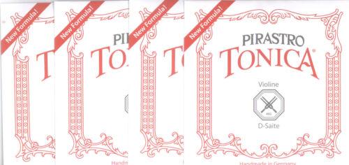 Pirastro Tonica Violinsaiten für 3//4-1//2 Geige Satz-mittel.