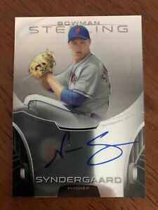 2013-Bowman-Sterling-Noah-Syndergaard-RC-Auto-New-York-Mets-Rookie-Card-Mint