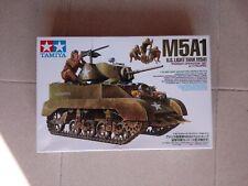 Tamiya 1//35 Military Miniature Series No.313 US Army Light Tank M5A1 hedgehog ch