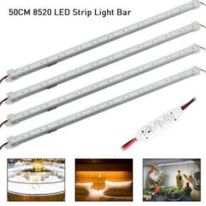 4x-12v-5630-led-voiture-bande-lumieres-interieur-barre-lampe-van-caravane-CWME
